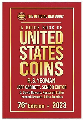 New 2020 2021 Official Red Book Guide US Coins Price List Hardcover Catalog