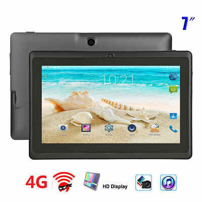 Q88 7'' Tablet Android system 512MB+4GB Quad Core WiFi Bluetooth Kid Tablet