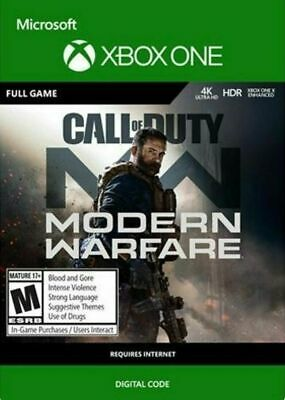 Call of Duty: Modern Warfare Digital Standard Edition Xbox One Full Game Key EU