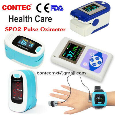 Finger Pusle Oximeter SPO2 Monitor Pulse Rate Patient Monitor Blood Oxygen Meter