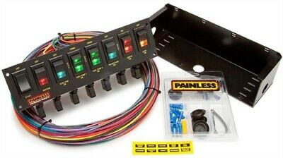 Painless Performance Products 50306 8-Switch Circuit Breaker Rocker Panel