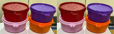 New Tupperware Tropical Cups - ( Set of 8 )