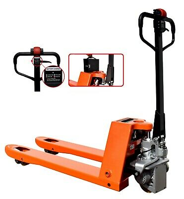 VULCAN Semi Powered Pallet Truck with 1500kg Load Capacity