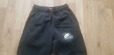 Girls age 13-15 years XL NIKE straight leg tracksuit bottoms black