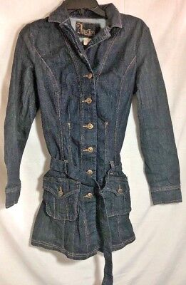 JouJou Womens Premium Denim Jean  Stretch Dress Jean Size Medium