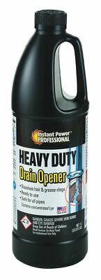 Instant Power Professional Drain Opener, 1L Jug, Unscented Liquid, Ready To Use,