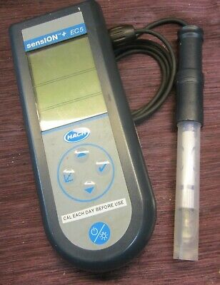 Hach Sension + EC5 Portable TDS & Conductivity Meter with Probe