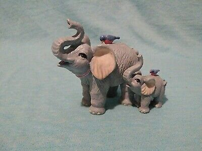 Luckyphants Elephant Mom And Baby #1010 Figurine