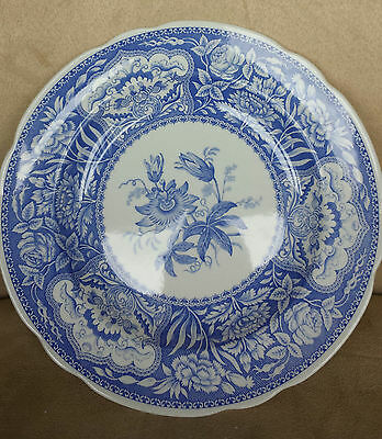 SPODE BLUE ROOM Collection FLORAL Blue Floral Dinner PLATE VINTAGE DINNERWARE