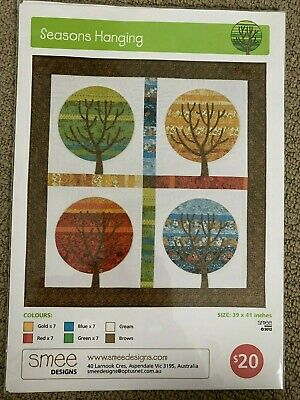 Seasons Hanging -- Smee Designs -- Quilt/Wallhanging Pattern