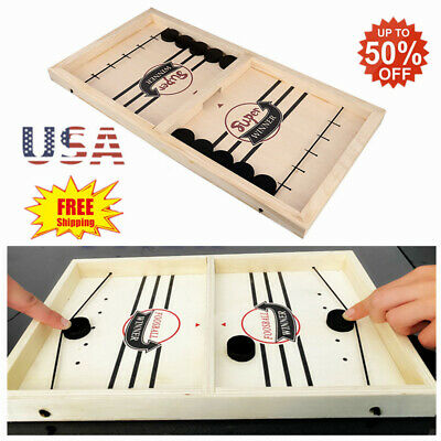 Fast Sling Puck Game Winner Board Games Toys Party Family Interactive Fun Toy US