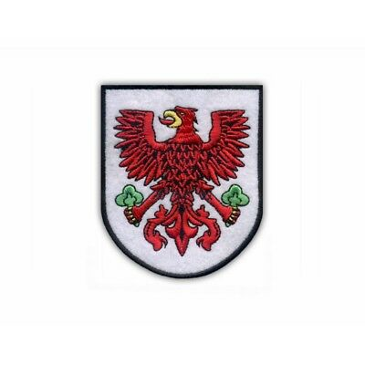 Coat of arms of  Wielkopolska Region Embroidered PATCH//BADGE