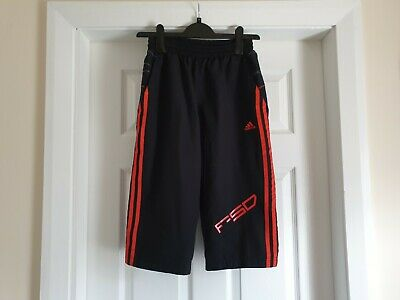 "Breeches ""Adidas""With Pockets Black Size: 13-14 Years (UK) Eur 164 cm Used"