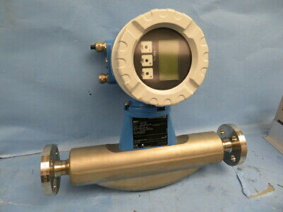 Endress & Hauser type Promass F 15mm Diameter Mass Flow Meter