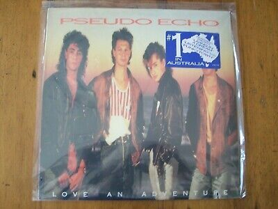 Pseudo Echo-Love An Adventure-Sealed Lp Vinyl Record-RCA-730-1-RX-w/Funkytown