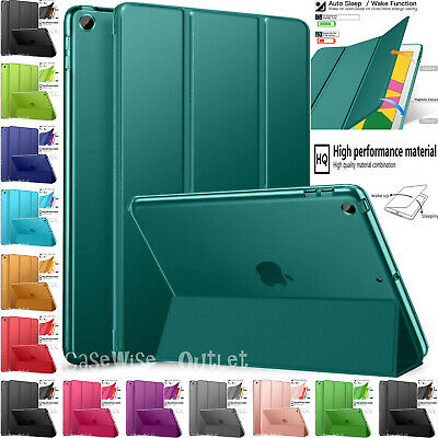 "Leather Magnetic Stand Smart Trifold Case Cover For Apple iPad 10.2"" Inch 2019"
