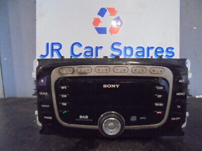 Sony Ford Mondeo Mk4 Focus Mk2 Dab Radio Cd With Code Bs7T-18C939-Dc