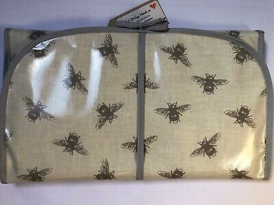 Wipes Handy Baby Changing Travel Case Nappy Oilcloth Fabric Horses /& Riders