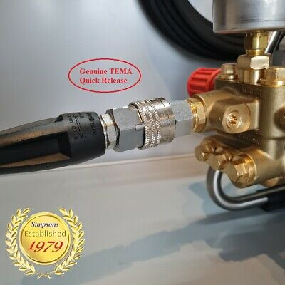 Kranzle-Fit Mosmatic Obsessed Style HP Gun & Swivel / 500mm Lance & Nozzles K7