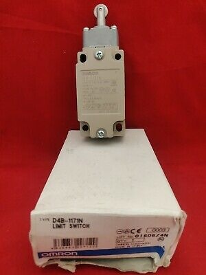 Omron D4B-1171N Limit Switch New