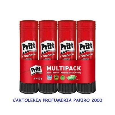 COLLA STICK PRITT 4 X 43g COLLA PRIT