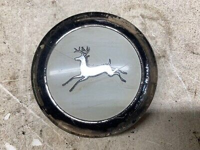 John Deere 110 112 Round Fender Steering Wheel Center Cap 63-67