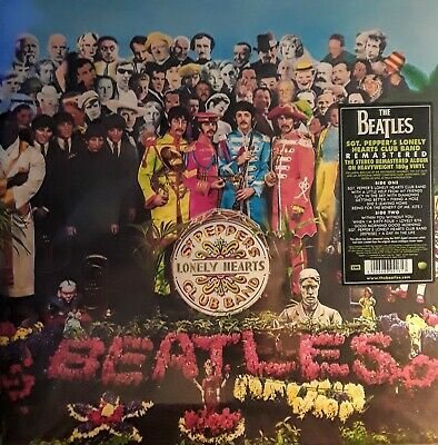The Beatles Sgt. Pepper's Lonely Heart's Club Remastered Vinyl