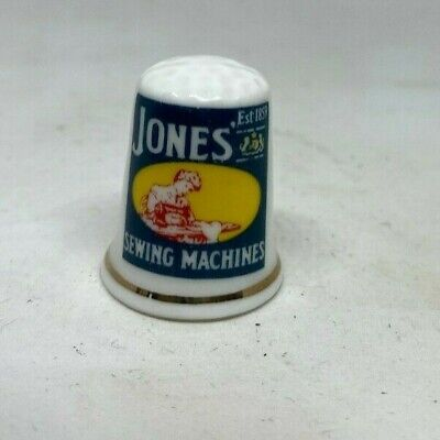 Collectable Thimble -  JONES SEWING MACHINES    (AA241)