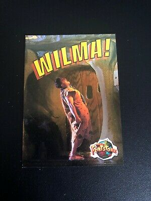 The Flintstones the Movie Full 4 Card Flint Foil Chase Card Set from Topps