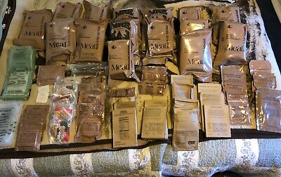 Assorted Sopakco MRE's Emergency Survival US Military Ration Meals