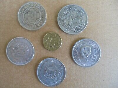5X Approx 38Mm Metal Novelty Coins