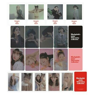 4pcs/Set Kpop BLACKPINK 2020 Welcoming Collection Photocard Glossy Paper Cards