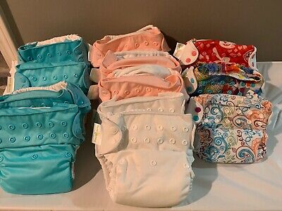 Lot Of 12 BumGenius Diapers New