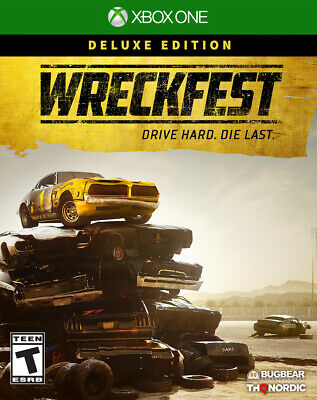 Wreckfest Deluxe Edition Europe Region Game Key (Xbox One)