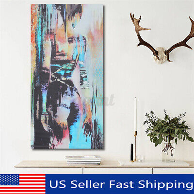 Abstract Art Woman Girl Back Canvas Oil Print Painting Picture Home Wall y