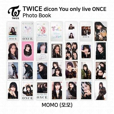 TWICE x dicon You Only Live ONCE Card Photo Book Postcard Momo KPOP K-POP