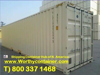 40ft High Cube New Shipping Container / 40' HC One Trip Container in Boston, MA