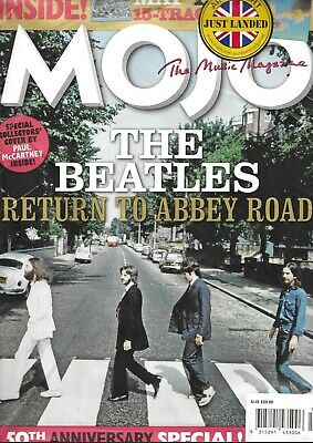 MOJO: THE BEATLES RETURN TO ABBEY ROAD 50th ANNIVERSARY EDITION MAGAZINE SPECIAL