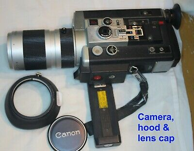 Canon Auto Zoom 1014 Super 8 Movie camera, remote