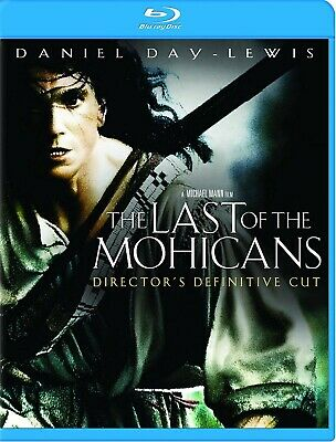 NEW BLU RAY  - The Last of the Mohicans - Daniel Day-Lewis, Madeleine Stowe,