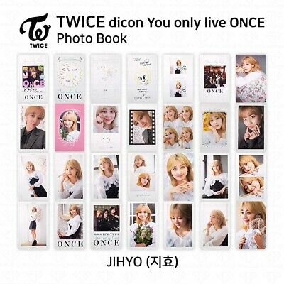 TWICE x dicon You Only Live ONCE Card Photo Book Postcard Jihyo KPOP K-POP