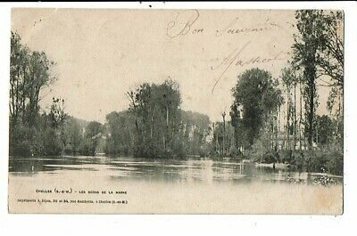 CPA-Carte Postale-FRANCE-Chelles- Les bords de la Marne-1903 VM14408