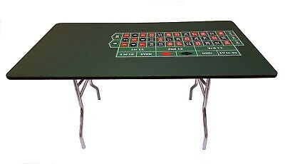 60 Inch Roulette Table Made in USA , ACEM CASINO SUPPLIES