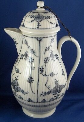 Antique 18thC Closter Veilsdorf Porcelain Coffee Pot Porzellan Kanne Kloster