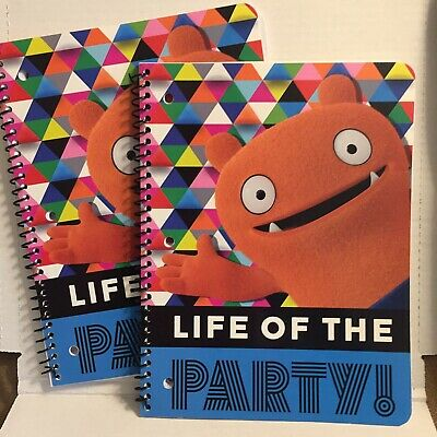 Ugly Dolls Life Of The Party One Subject Notebook-Set OfTwo