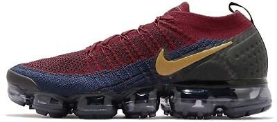 New Mens Nike Air Vapormax Flyknit 2 Olympic Sneakers 942842 604 Size 12.5