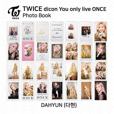 TWICE x dicon You Only Live ONCE Card Photo Book Postcard Dahyun KPOP K-POP