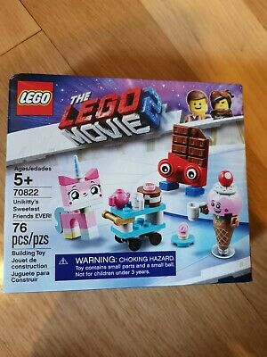GENUINE LEGO MOVIE 2 CHOCOLATE BAR from 70822 MINT SPLIT FROM SET tlm128