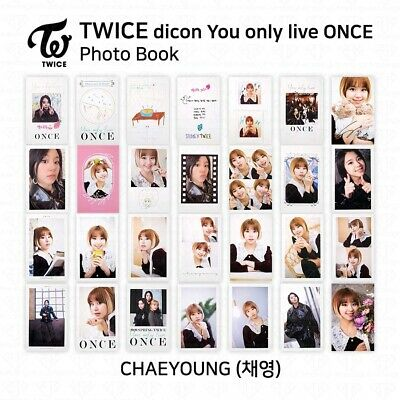 TWICE x dicon You Only Live ONCE Card Photo Book Postcard Chaeyoung KPOP K-POP