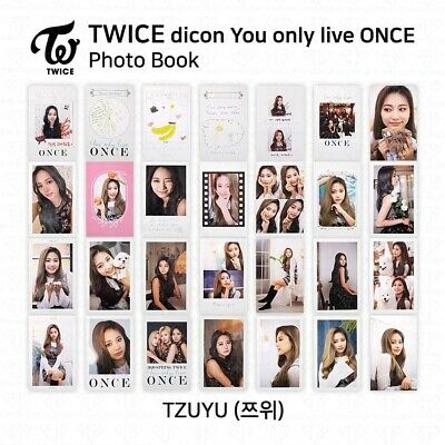 TWICE x dicon You Only Live ONCE Card Photo Book Postcard Tzuyu KPOP K-POP